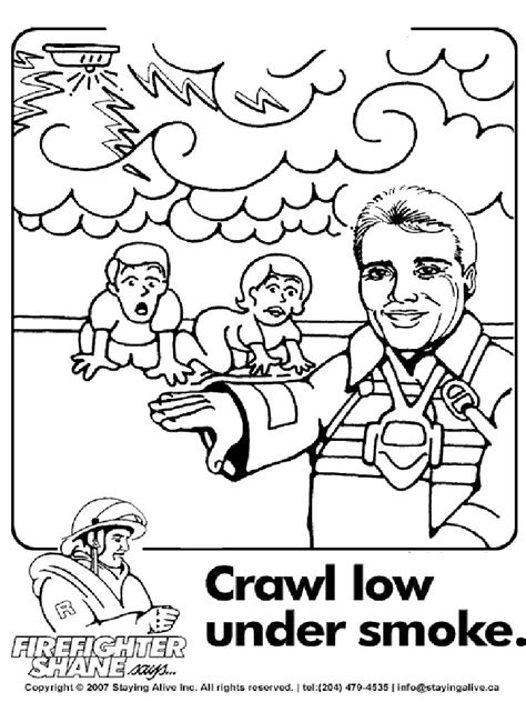 fabulous fire prevention coloring pages with free fire