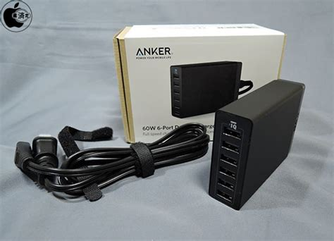 anker 60w 6 family sized desktop usb charger and アンカー ジャパン 60w usb急速充電器 anker 60w 6 family sized