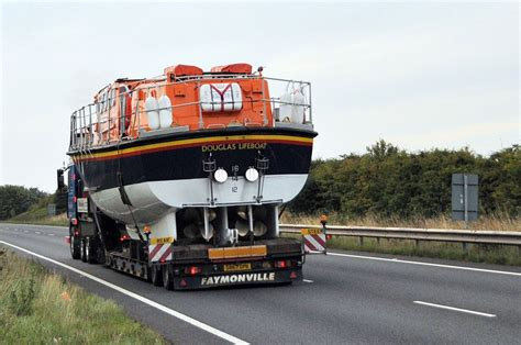 boat transport poole dorset photo s867 opx daf95 530xf ssc 6x2 unit malcolm elvy