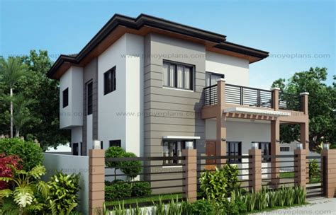 miami home design mhd marcelino four bedroom two storey mhd 2016021 pinoy