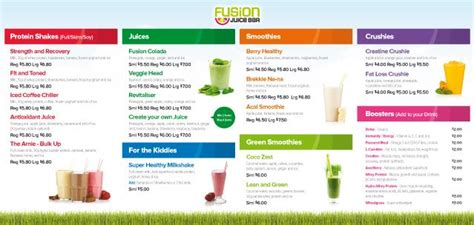 juice menu card templates 21 best images about menu on eat healthy