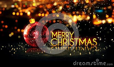 red gold merry christmas bokeh beautiful  background