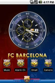clock themes for android barcelona clock for android theme htc theme mobile toones