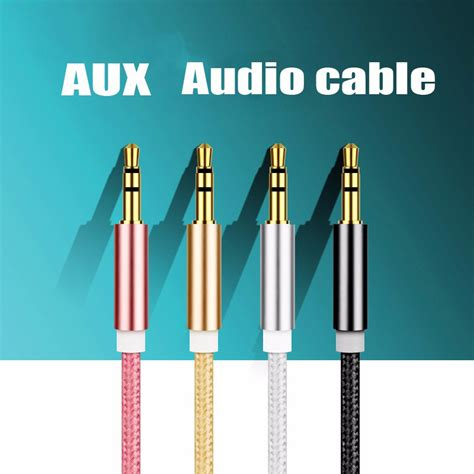 Aux Audio Cable 3 5mm To Murah 2 hifi gold plated aux audio beats cable 3 5mm stereo to 3 5mm stereo black
