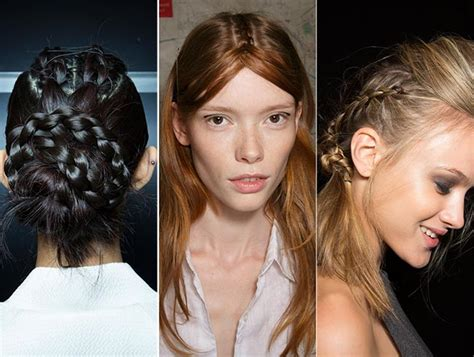 whats the hair trend for 2015 spring summer 2015 hairstyle trends fashionisers