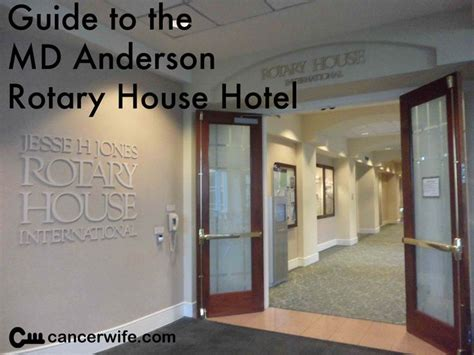 Rotary House Houston by Guide To Your Stay At The Md Rotary House Hotel