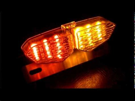 motorcycle tail light turn signal combo streetfighter r6 style motorcycle led brake tail turn