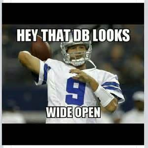Romo Interception Meme - funniest memes and twitter on cowboys tony romo choke