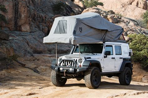 overland jeep tent featured vehicle at overland jeep jk expedition portal
