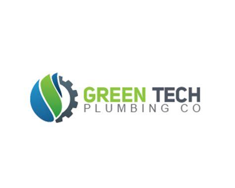 green tech plumbing co logo design contest logo arena