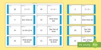 loop cards template loop cards 3 and 4 times tables loop cards cards 6 8