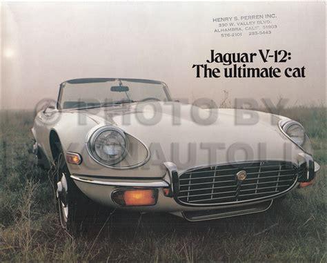 car repair manuals download 2001 jaguar xk series transmission control 1971 1974 jaguar xke v12 e type repair shop manual reprint series 3