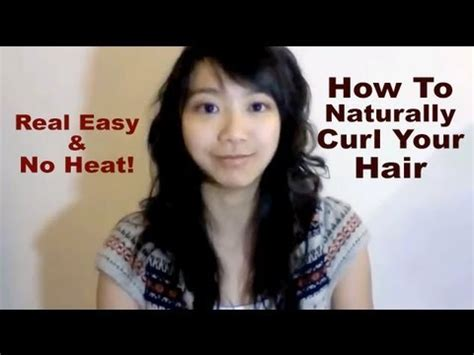 how do i curl ntural hair that doesnt curl how to naturally curl your hair without heat askashley