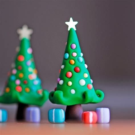 how to make simple clay christmas trees tree polymer clay fimo clay tree cakes trees