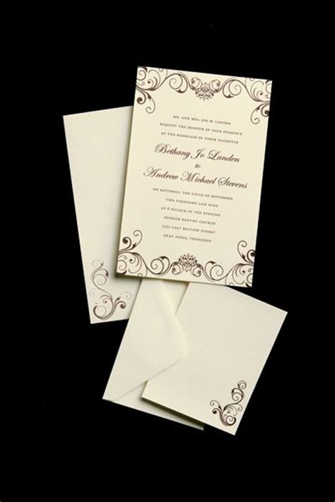 hobby lobby wedding invitations templates