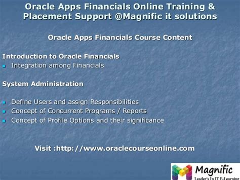 oracle tutorial in mumbai oracle financials r12 erp online training in usa uk new