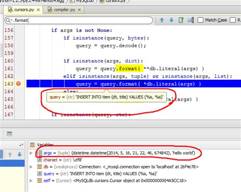 sqlalchemy tutorial query sqlalchemy query parameters are not inserted