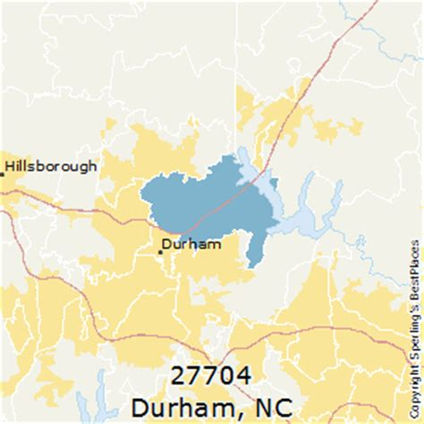 zip code map durham nc best places to live in durham zip 27704 north carolina
