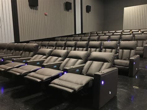 movie theatre with recliner seats new power reclining seats at eastpoint movie theater take