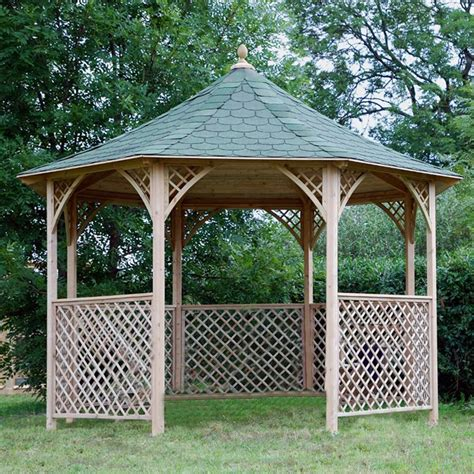 gazebo chopin gazebo da giardino in legno chopin bsvillage
