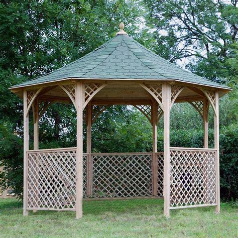 arredo da giardino in legno gazebo da giardino in legno chopin arredo giardino