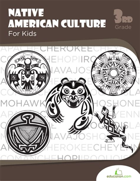 native american culture for kids workbook education com
