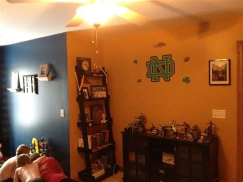 notre dame rooms notre dame themed boys room b notre