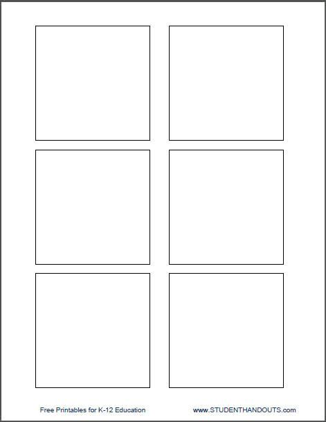 Template For Printing Directly On 3 Quot X 3 Quot Post It Notes Student Handouts Print On Post It Notes Template