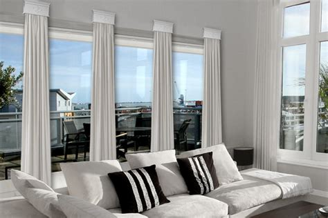 family room window treatments contemporary cornice window treatments