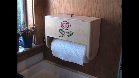 paper towel holder  storage youtube