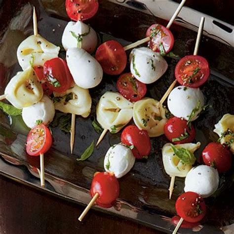 tortellini caprese bites top rated holiday appetizers