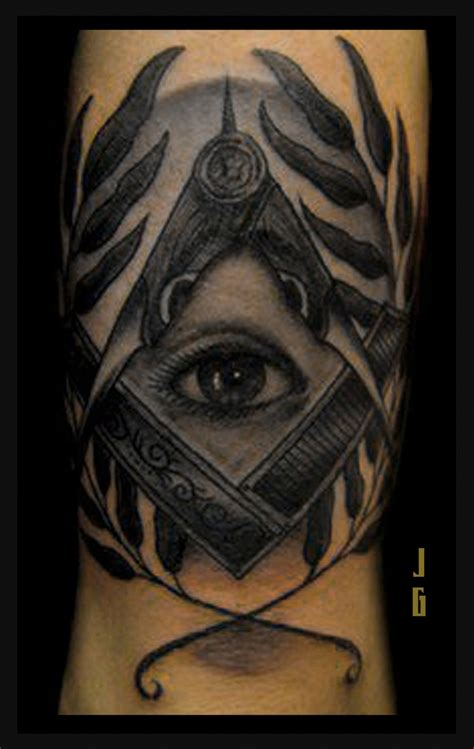 tattoo eye mason square compass all seeing eye tattoo tattoo