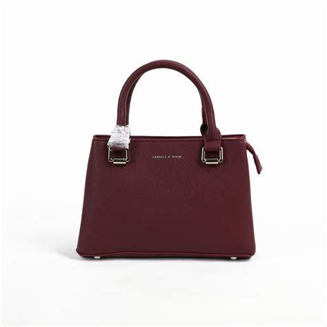 Tas Wanita Handbags Branded Import Ck Ck Charles And Keith 36 jual tas branded ck top handle 25 cm maroon murah kwalitas tas import pwshoponline