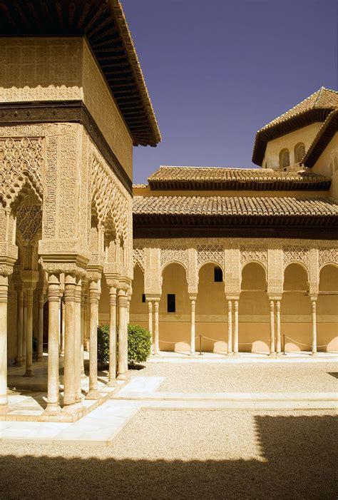 moorish architecture moorish architecture in the nasrid palaces at the alhambra granada by mal bray