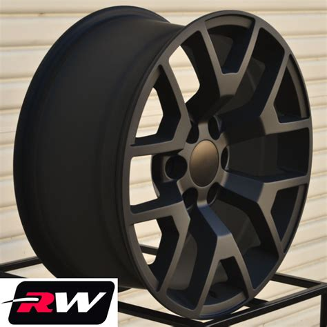 gmc 20 inch wheels 2014 gmc wheels matte black 20 quot inch 20x9 quot chevy