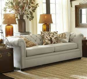 Pottery Barn Chesterfield Sofa Pin By Mcqueen On Home Decor Ideas