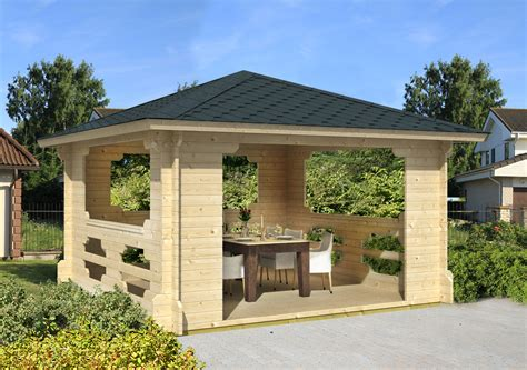 pavillon selber bauen metall gartenpavillon holz sechseckig selber bauen bvrao