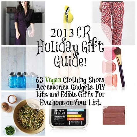 Gift Ideas For The Fashion Conscious by 2013 Gift Guide 63 Ideas For Vegan Apparel