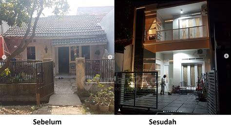 gambar sebelum  sesudah renovasi rumah  bikin