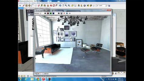 video tutorial vray sketchup español render interior en sketchup vray youtube