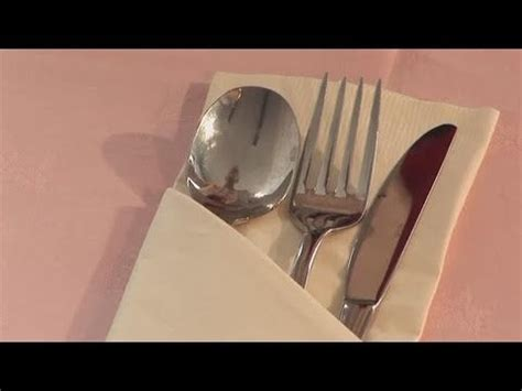Folding Silverware Into Paper Napkins - best 25 duni servietten ideas on servietten