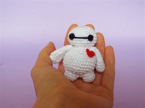 Amigurumi Baymax piccolo bay max amigurumi alluncinetto it