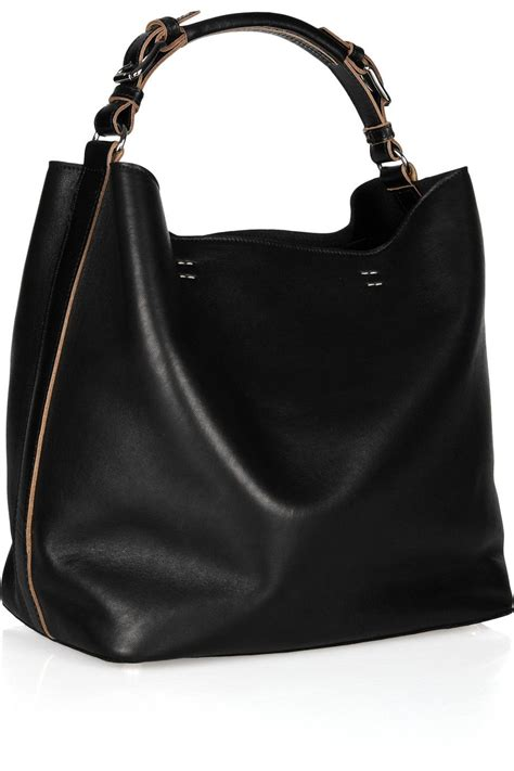 Marni Tinsel Leather Handbag by Marni Slouchy Leather Shoulder Bag Net A Porter