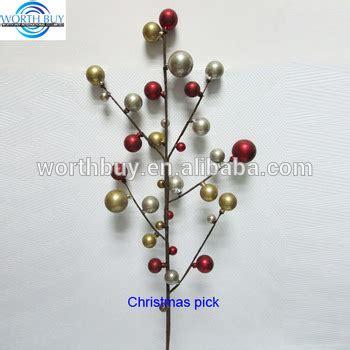 decorative tree picks antique satin beaded decorative tree picks and