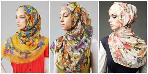 trik membuat yel yel pancarkan sisi feminin dengan hijab motif bunga vemale com