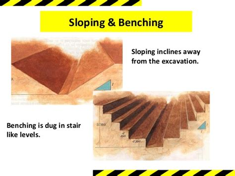 benching excavation excavation safety training module 1
