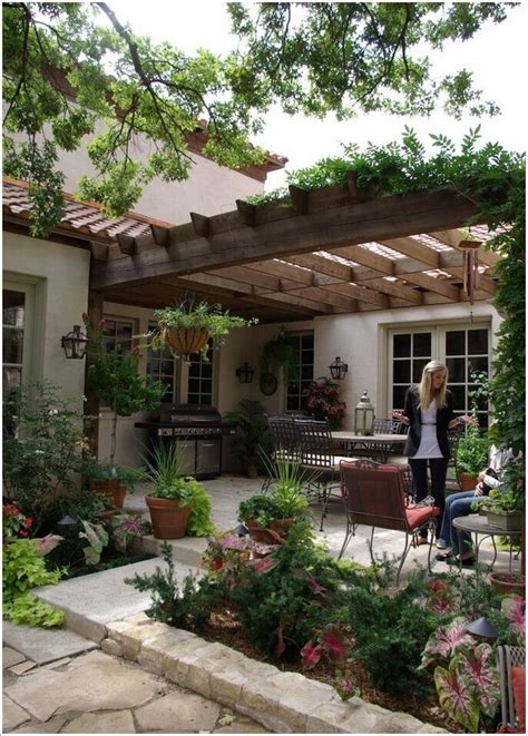 Patio Pergola by Patio And Pergola Patio Designs And Ideas