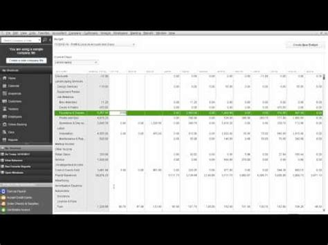 quickbooks tutorial budget how to edit budget in quickbooks with pictures videos