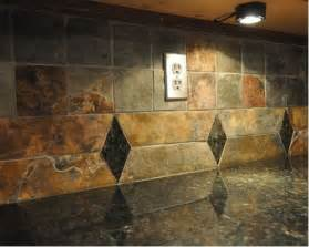 slate tile backsplash ideas multi color slate backsplash ideas pictures remodel and