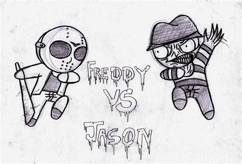 Freddy Vs Jason Coloring Coloring Pages Freddy Vs Jason Coloring Pages